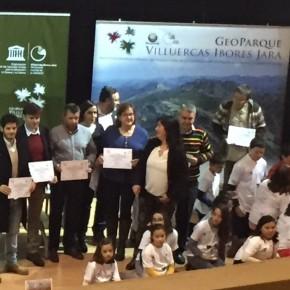 El Diputado de C's Víctor Peguero asiste a la Conmemoración de la Revalidación del Geoparque Villuercas-Ibores-Jara