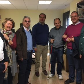 Ciudadanos muestra su apoyo a la importante labor de la ONCE en la ciudad